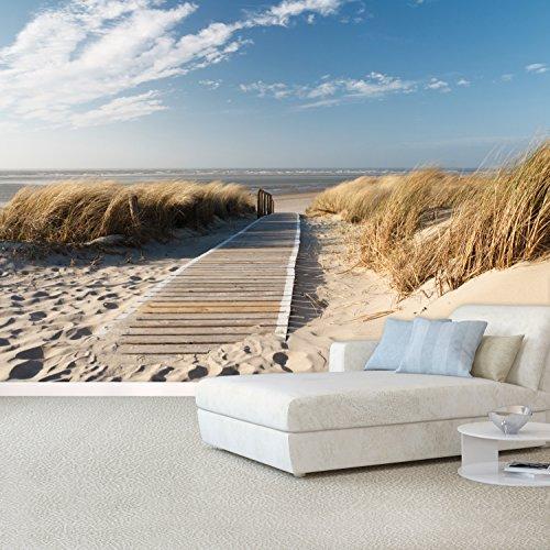fototapete ocean way 366x254cm tapete meer ozean strand. Black Bedroom Furniture Sets. Home Design Ideas